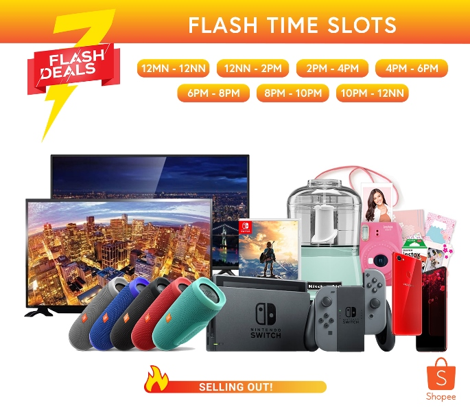 Score the Hottest Tech Trends at Shopee's July Orange Day Campaign; Offers up to 90% Discounts and Free Shipping!