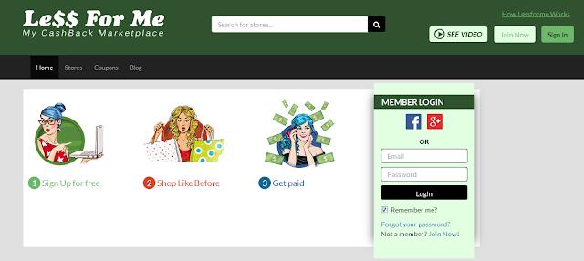 موقع lessforme لربح 50 دولار بكل سهولة