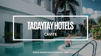 Where to stay in Tagaytay