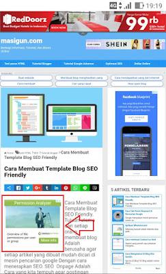 Cara Pasang Iklan di Atas Postingan Blog