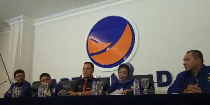Ngotot Bela Kader SARA, Nasdem Ancam Balik Partai yang Polisikan Victor