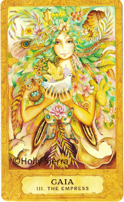 Chrysalis Tarot Gaia The Empress Brooks  Sierra