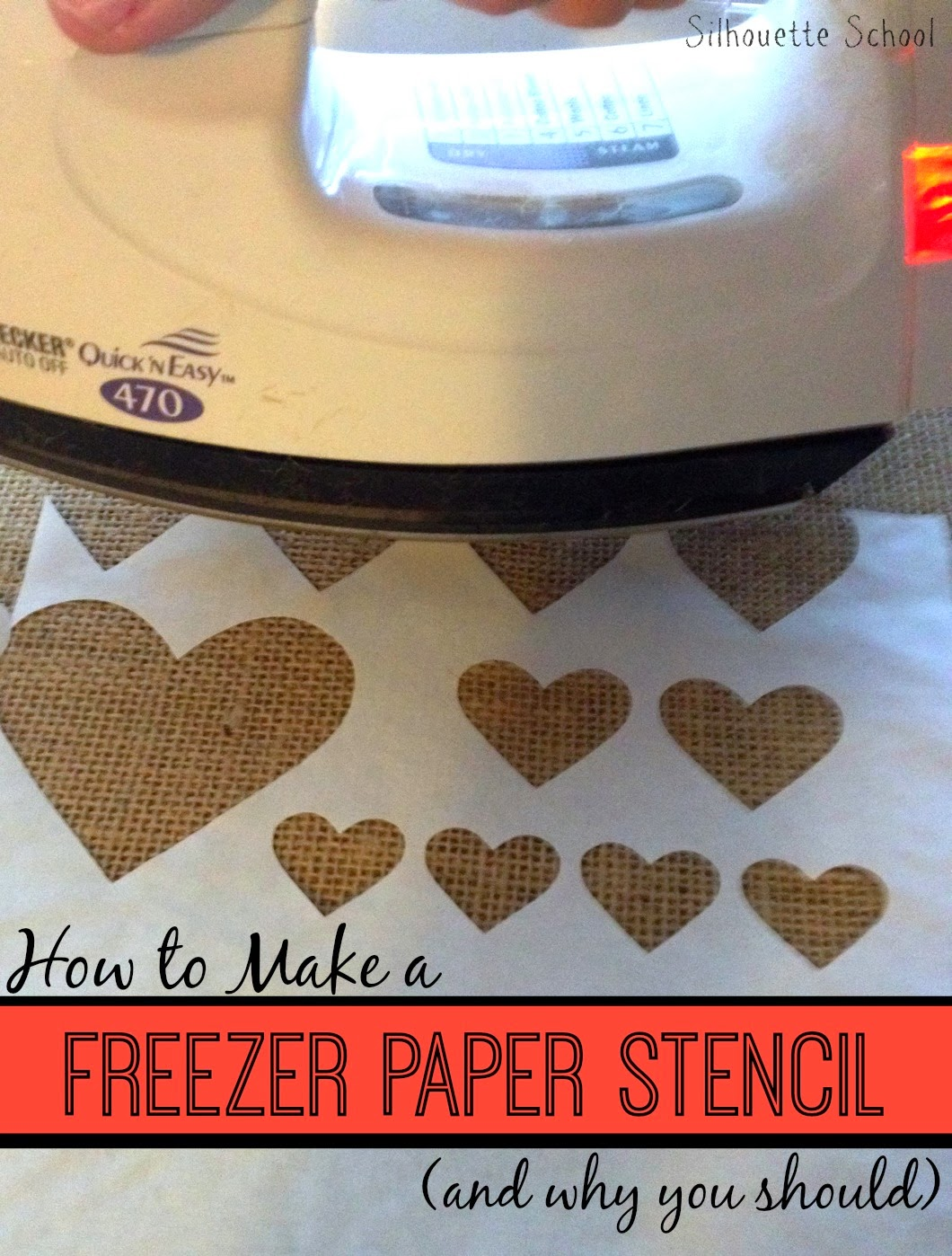 how to cut detailed stencils