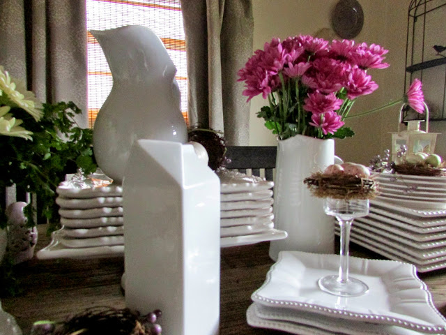 Barnwood, Butterflies & Birds Tablescape