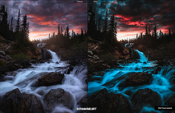 Share Preset Lightroom Landscape Kit cho phong cảnh(Mobile/Desktop)