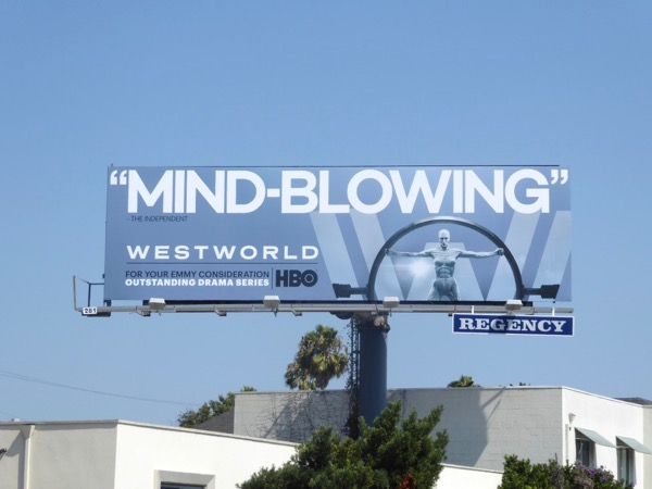 Westworld Mind-blowing Emmy billboard