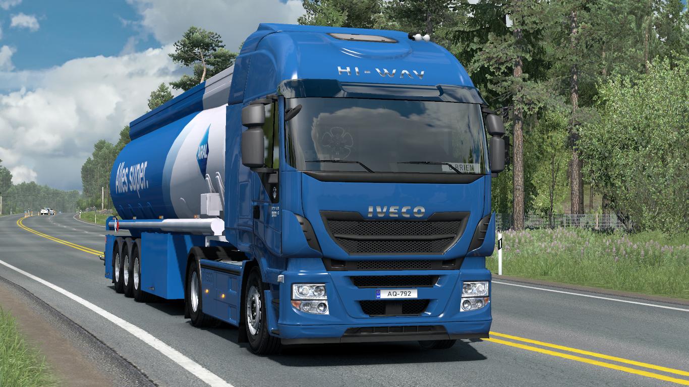 Iveco Cursor sound - Euro Truck Simulator 2 Mod World