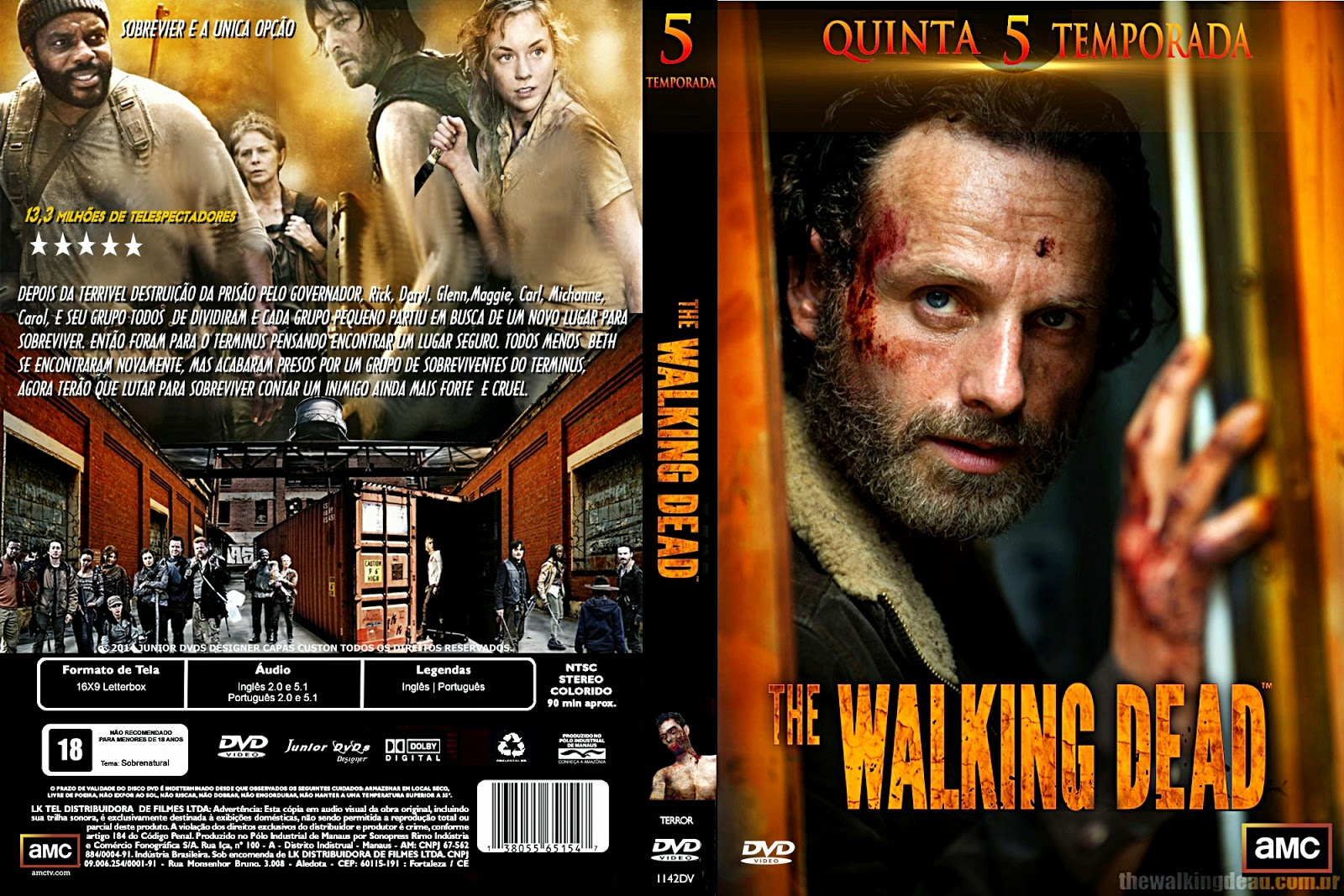 THE WALKING DEAD TEMPORADA 5 - ESPAÑOL LATINO (ONLINE + DESCARGA ...