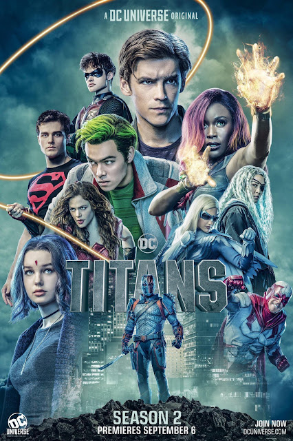 Titans Television Series Season 2 One Sheet Poster by DC Universe