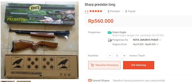 Sharp Predator Long