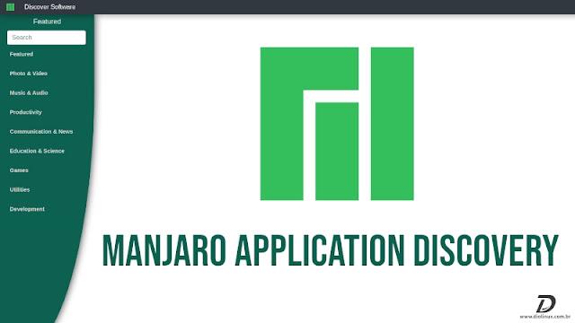 manjaro-lanca-pagina-de-busca-de-softwares-com-design-moderno-e-intuitivo