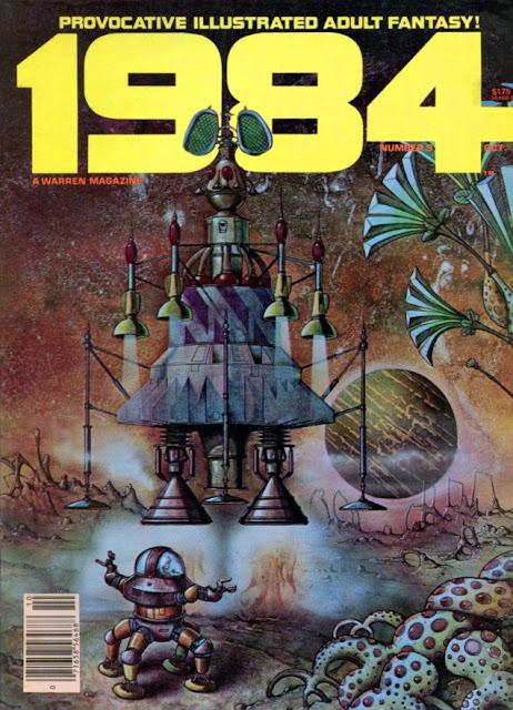Portada de 1984 #5, edición americana