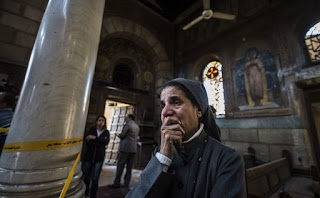 44 people were killed in bomb attacks at a cathedral and another church on Palm Sunday.