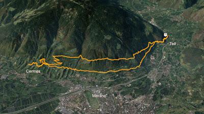 GPS Marlinger Waalweg