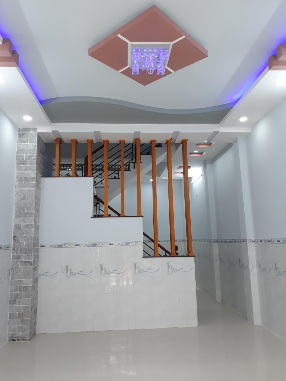 Bán nhà mới xây Đường số 14 phường Bình Hưng Hòa A quận Bình Tân. DT 4,5x12m