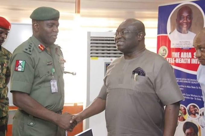 Security; the fulcrum of our policy framework, says @GovernorIkpeazu