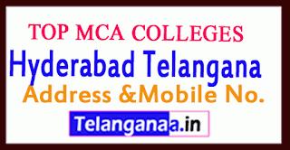 Top MCA Colleges in Hyderabad Telangana