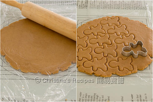 薑人餅製作圖 Gingerbread Men Procedures02