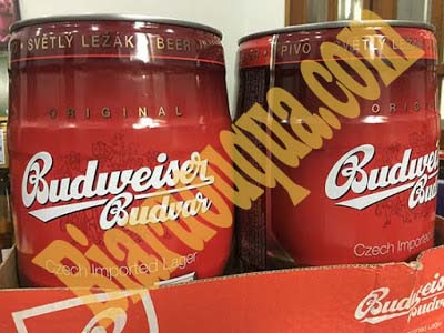 Mua bom bia Budweiser Budvar 5L