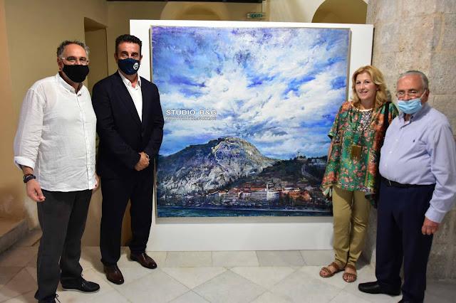 """Εγκαινιάσθηκε η έκθεση """"Ναύπλιο: τόπος μνήμης του Αγώνα της Ελευθερίας"""""""