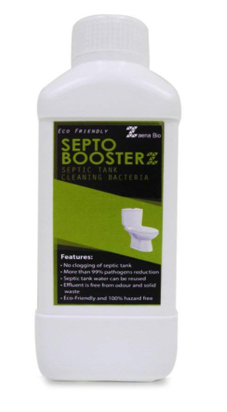 Zaena Septo Boosterz 100% Natural & Effective Septic Tank Cleaner in Liquid