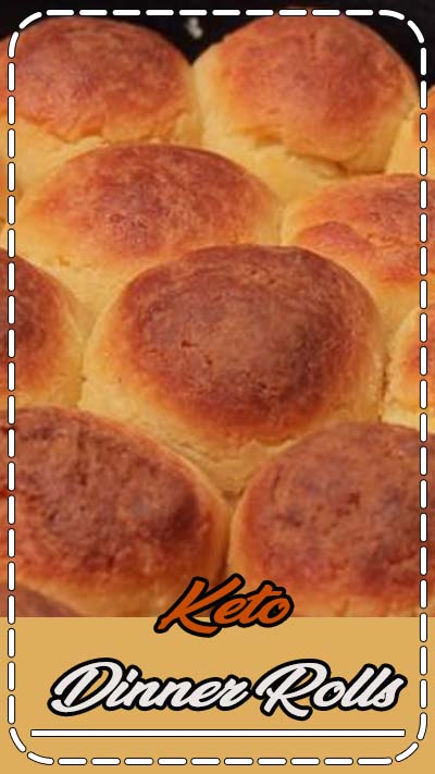 "KETO DINNER ROLLS - the low-carb bread that will change your life. Seriously. Just think about all of the sliders, biscuits and gravy, sandwiches you'll make with these! One reader says ""Truly the best Keto bread I've ever had. I've been Keto since June 2016 and have tried a ton of breads too. My family loved them as well."" #glutenfree #lchf #keto #lowcarb #ketorecipe #lowcarbrecipe #recipevideo #video #atkins #ketogenic"