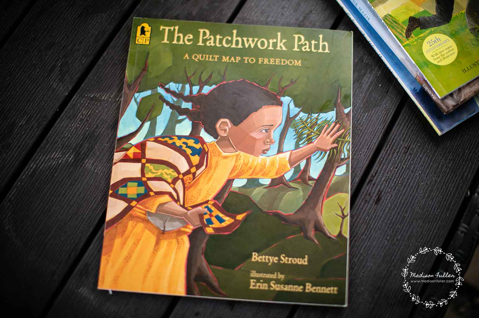 Juneteenth Books for Kids - The Patchwork Path: A Quilt Map to Freedom