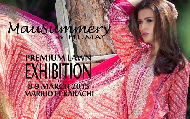 Mausummery By Huma Premium Lawn 2015-16 S/S Dresses