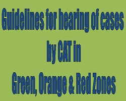 cases by CAT in Green, Orange & Red Zones