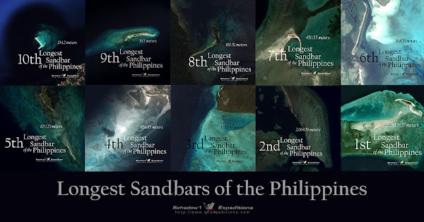 10 Longest Sandbars of the Philippines - Schadow1 Expeditions