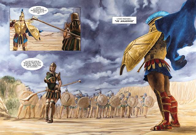 Achille tome 3 -  le duel entre Achille et la reine des amazones