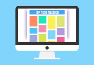 Membuat Top Menu Navigasi Responsive Untuk Blogspot Ala Arlina Design