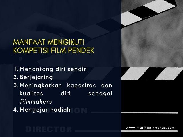 manfaat join kompetisi film pendek