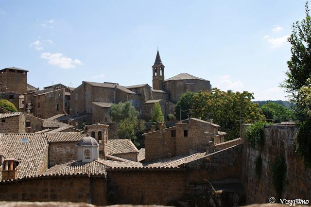 I tetti e lo skyline medievale di Orvieto