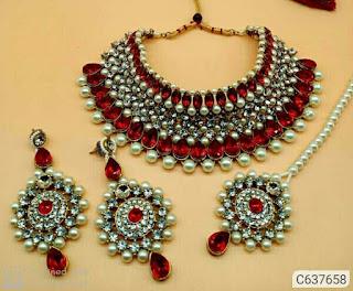 Stone Jewellery Sets