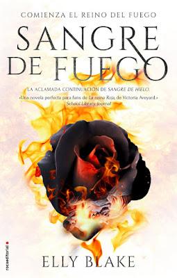 LIBRO - Sangre de Fuego Saga: Sangre de Hielo #2 Elly Blake  (Roca - 7 Junio 2018)  Literatura Juvenil - Novela - Fantasía  COMPRAR ESTE LIBRO EN AMAZON ESPAÑA