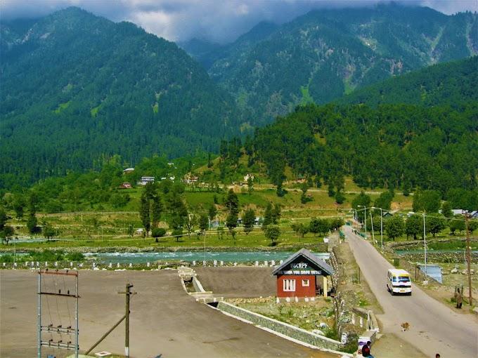 Green Peaks at Pahalgam