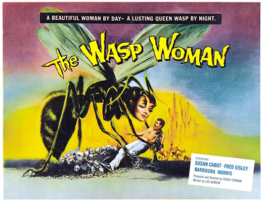Poster - The Wasp Woman, 1959