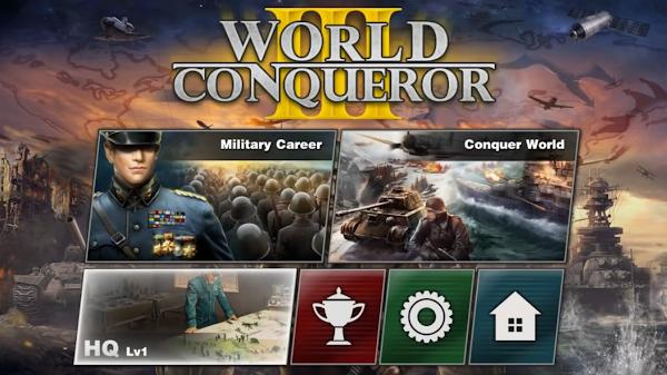 World Conqueror 3 v1.2.16 Mod (Many Medals)