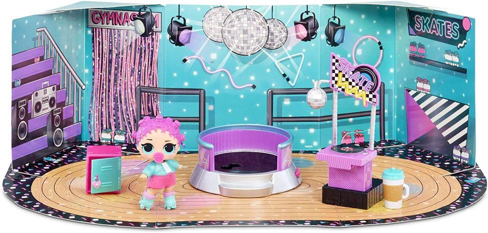 Мебель для Лол роллердром Roller Rink и кукла Roller Sk8er