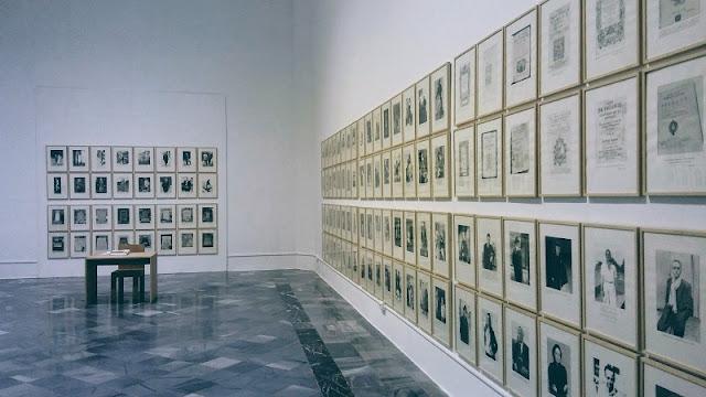 Vista de la exposición de Xisco Mensua en el Centre del Carme de Valencia