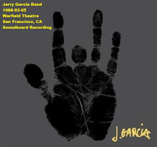 Jerry Garcia Band - 1988-03-05 - San Francisco, CA (SBD)