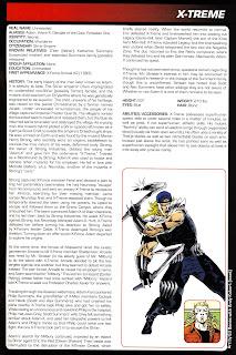 Extremo Ficha Marvel