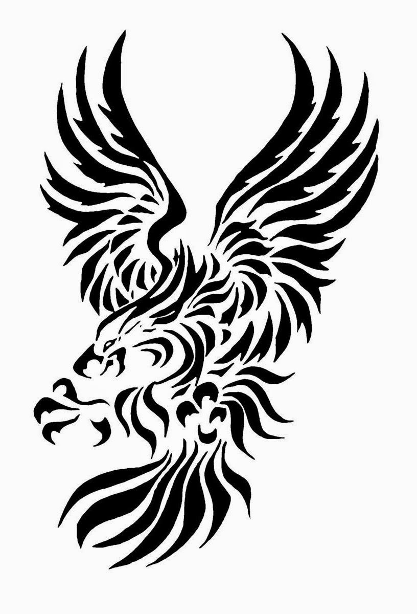 tattoos book 2510 free printable tattoo stencils eagle tattoo stencils. Black Bedroom Furniture Sets. Home Design Ideas