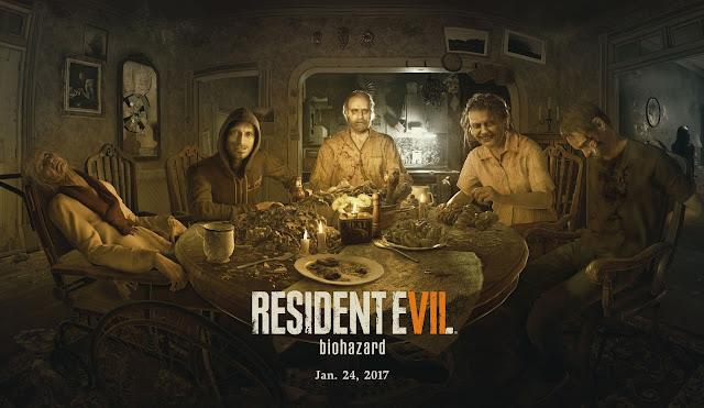 اللعبة الرابعة : Resident Evil 7: Biohazard