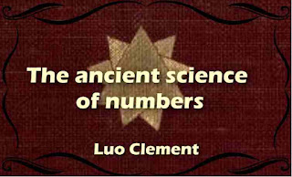 The ancient science of numbers