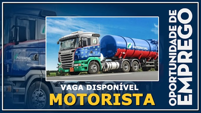 Grupo Pontecial abre vagas para Motorista Truck