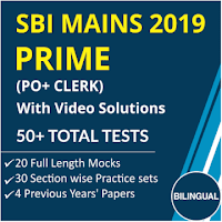 SBI PO/Clerk Mains Current Affairs Questions   4th July 2019_60.1