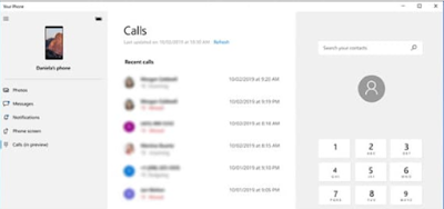 Make and Receive Android Phone Calls on Windows10 | How to set up the Your Phone app and link your phone and your Windows10