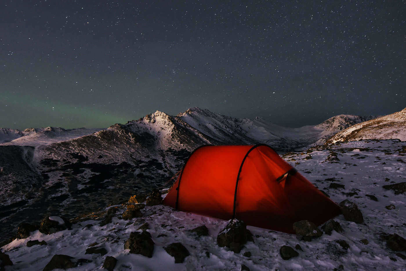 tent on mountain at chugach state park - 11 best state parks in the united states